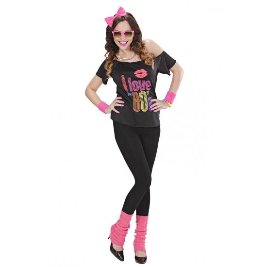 80s meisje verkleedkleding voor dames