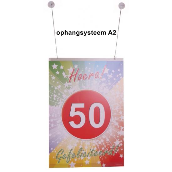 A2 poster ophangen