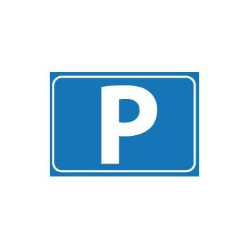 Aanduiding sticker parkeerplaats