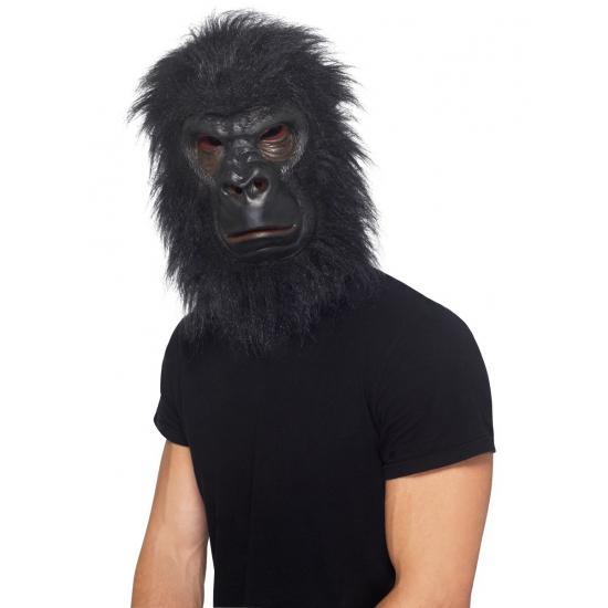 Aap masker latex zwart