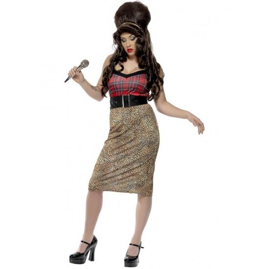 Amy Winehouse verkleed setje