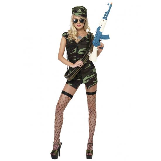 Armyprint verkleedjurkje