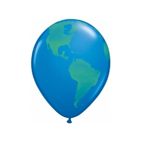 Ballon wereldbol 40 cm