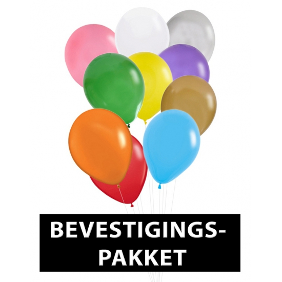 Ballonnen bevestigingspakket