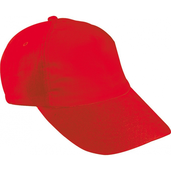 Baseballcapjes rood voor kinderen