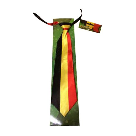 Belgische supporters stropdas