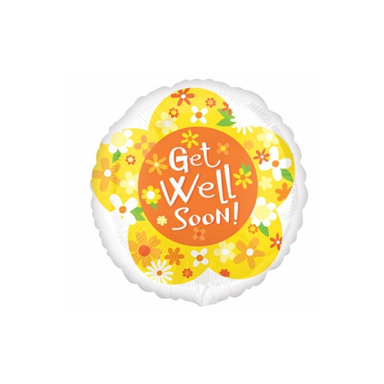 Beterschap folie ballon Get well soon