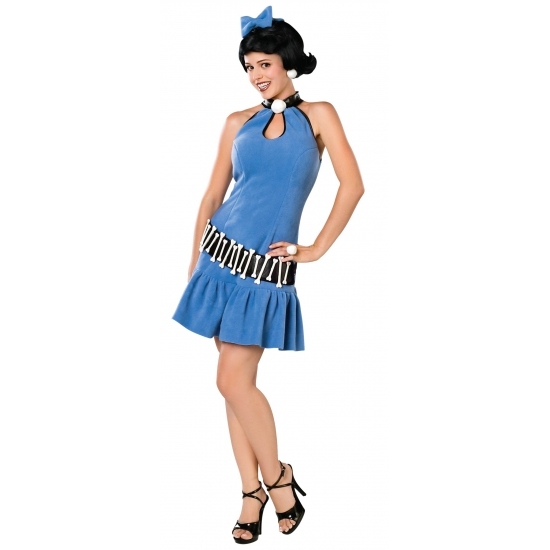 Betty Rubble dames kostuum