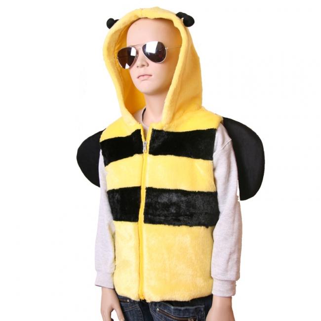 Bijen bodywarmer voor kids