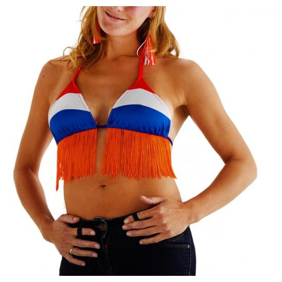 Bikini top in Nederlandse kleuren