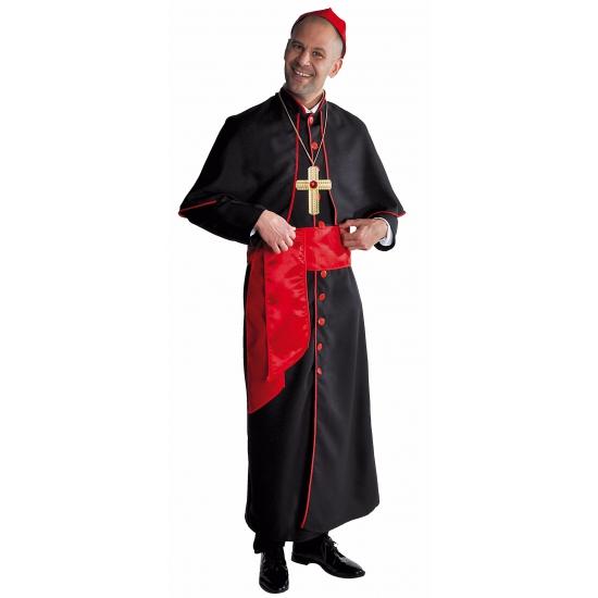 Bisschop kostuum zwart