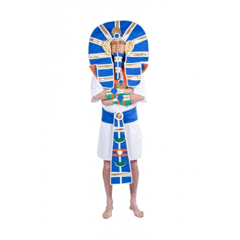 Blauw farao kostuum