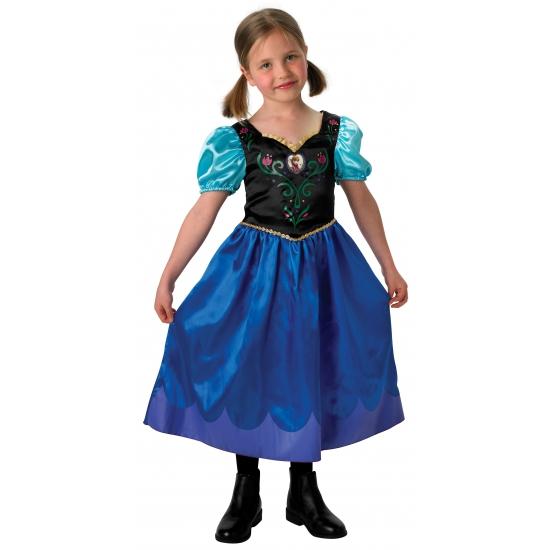 Blauwe Frozen jurk Anna voor kids