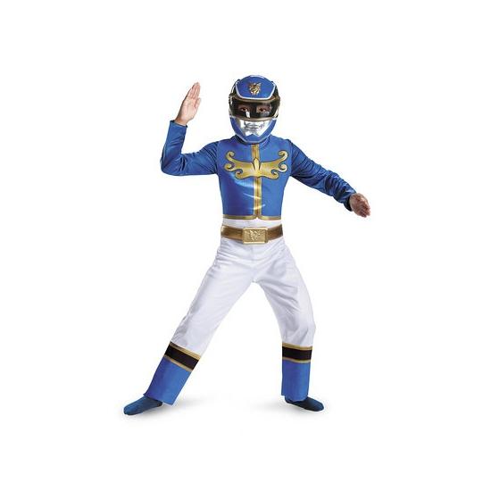 Blue Power Ranger jumpsuit voor jongens