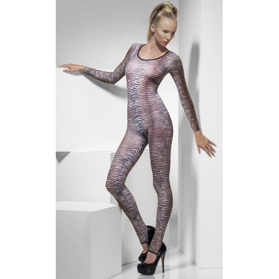 Bodysuit met tijgerprint voor dames