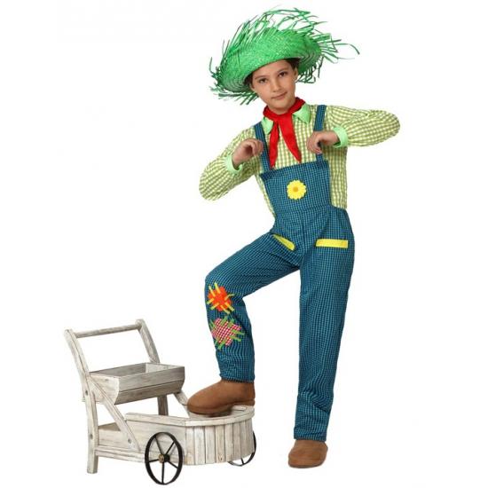 Boeren jongen kostuum voor kids