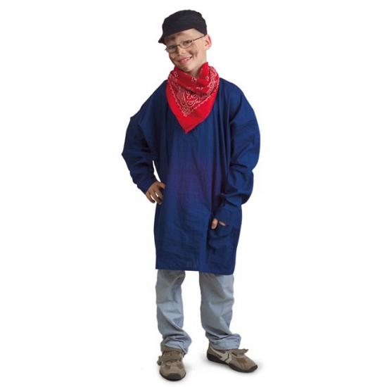 Boeren kiel blauw voor  kids