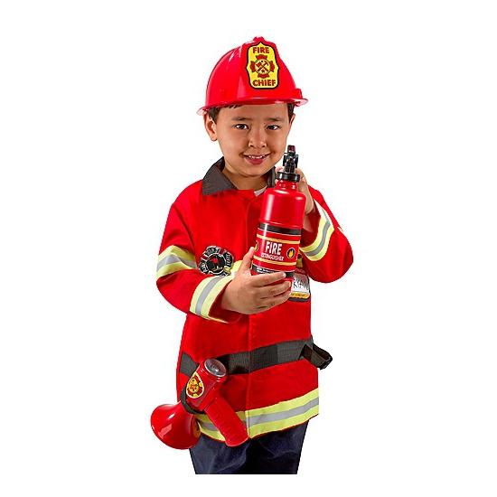 Brandweer kleding kids