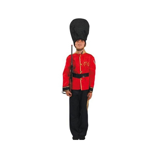 Britse soldaat verkleed kostuum voor kinderen