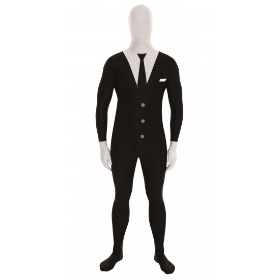 Businessman morphsuits zwart