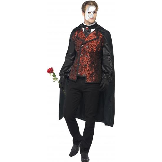 Carnaval Dark Opera kostuum voor heren