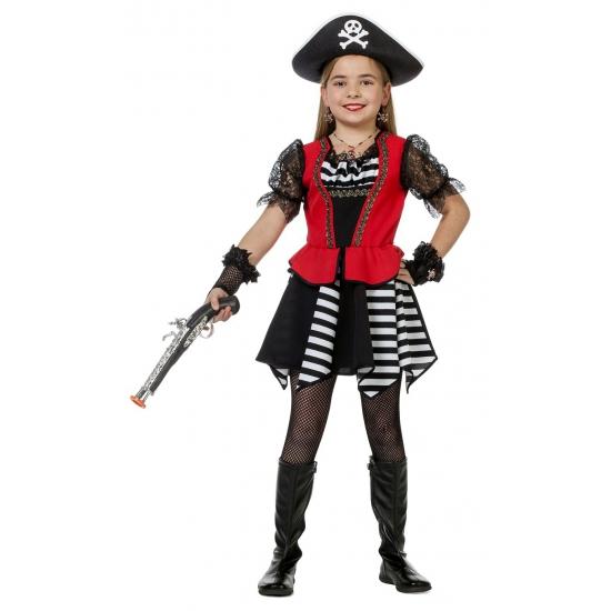 Carnaval piraten jurk voor meiden