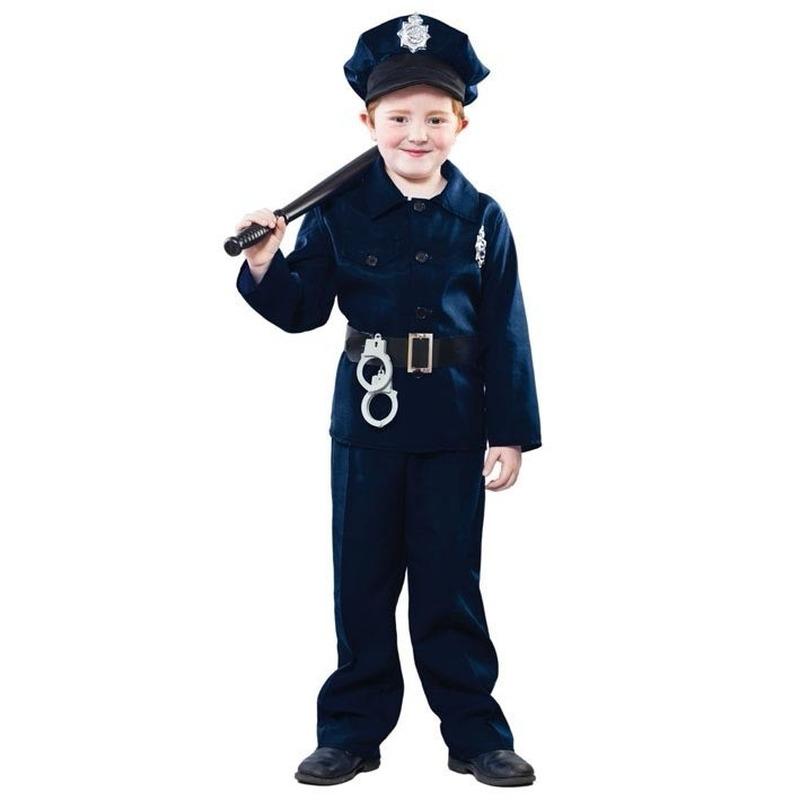 Carnaval politie kostuum voor kinderen