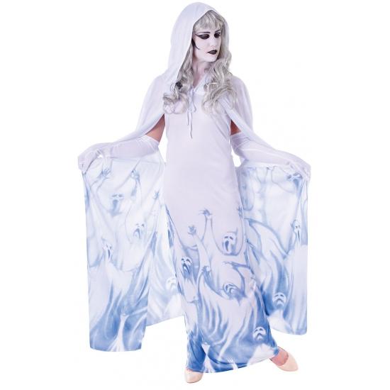 Carnavals kostuum spook voor dames