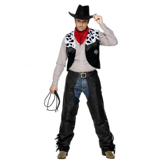 Carnavalskleding Cowboypak heren
