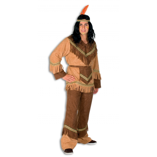 Carnavalskleding Indiaan heren