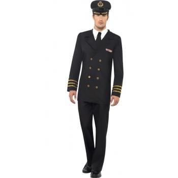 Carnavalskleding marine officier outfit