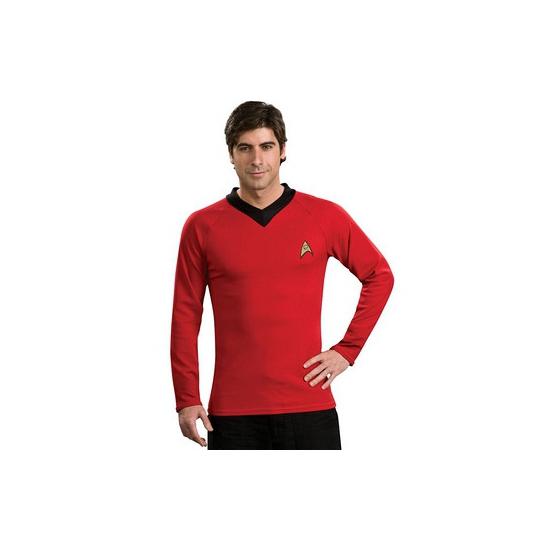 Classic Star Trek t shirt rood