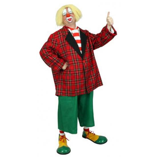 Clown Bassie feestkleding