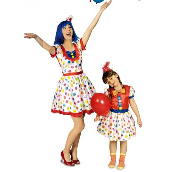 Clownspakje voor dames