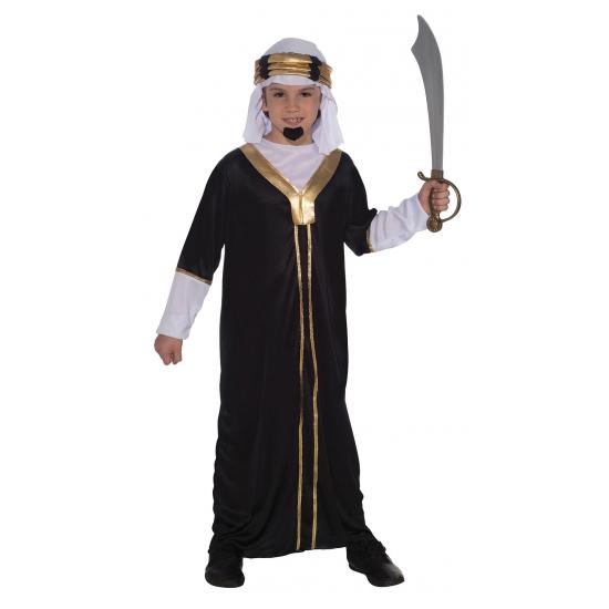 Compleet arabieren outfit zwart
