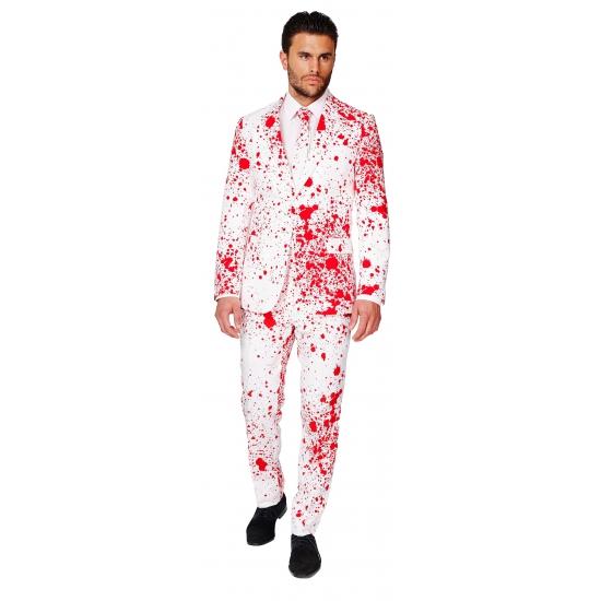 Compleet kostuum met bloedspatten