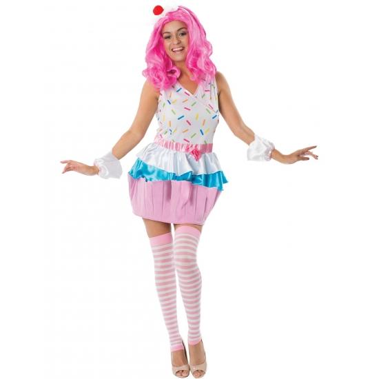 Cupcakejes kostuum voor dames