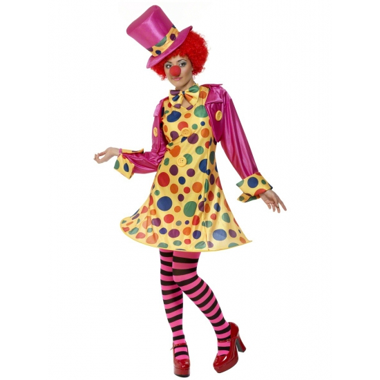 Dames clowns kleding
