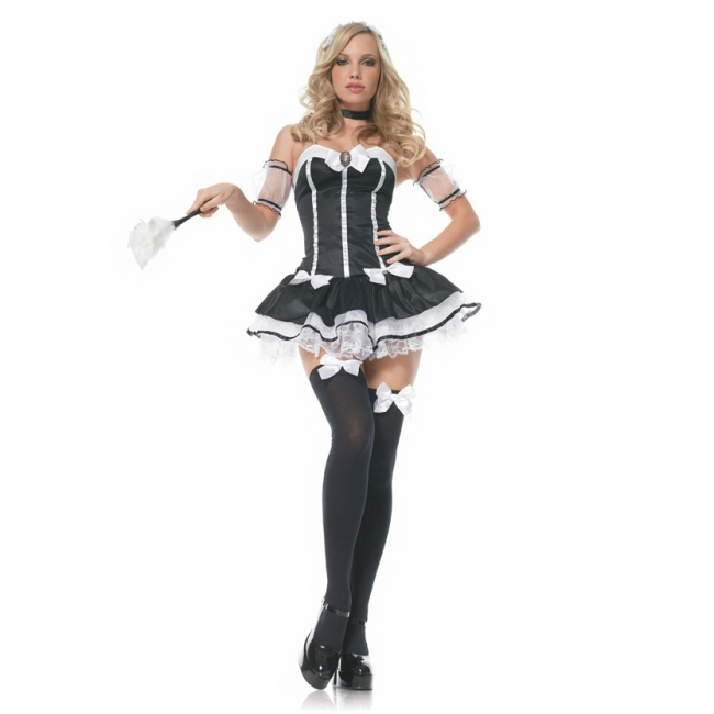 Dames jurkje French maid