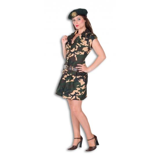 Dames soldaten verkleedkleding