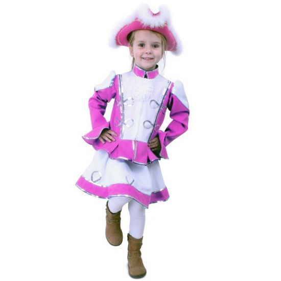 Dansmarietje kostuum voor meisjes