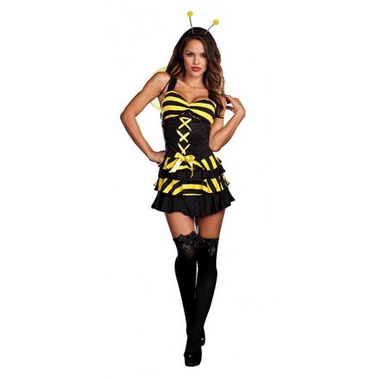 Dieren kostuum bij jurkje