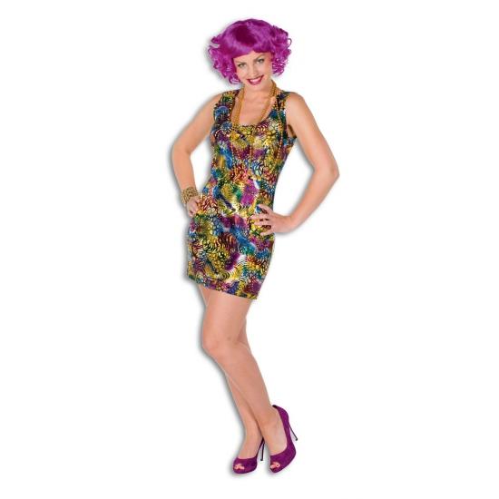 Disco verkleedkleding jurkje
