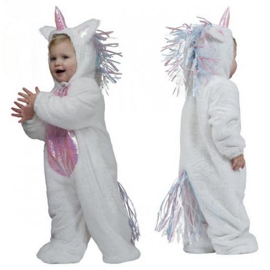 Eenhoorn verkleedkleding voor peuters