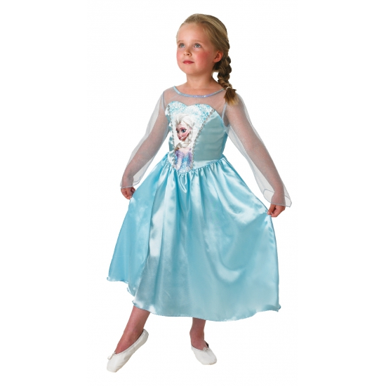 Elsa Frozen verkleed kostuum voor kinderen