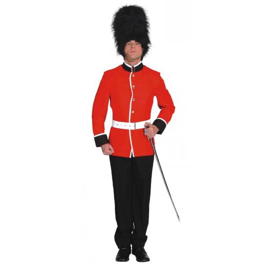Engelse soldaat carnavals kostuum