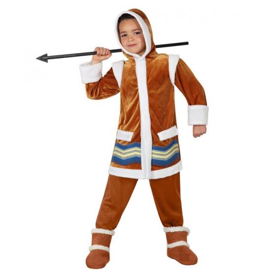 Eskimo outfit voor kinderen