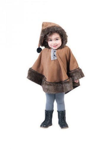 Eskimo poncho voor peuters