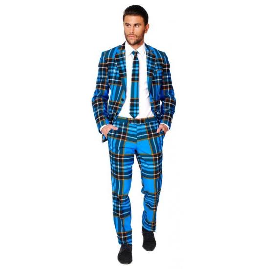 Feest kostuum Schotse print
