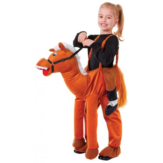 Feest paard kostuum voor kinderen